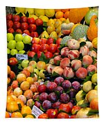 Market Time II Tapestry