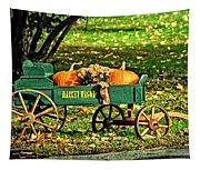 Market Wagon Tapestry