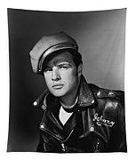 Marlon Brando In The Wild One 1953 Tapestry