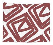 Marsala Envelopes- Abstract Pattern Tapestry