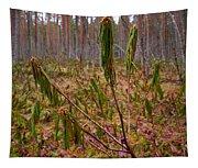Marsh Labrador Tea After Winter Tapestry
