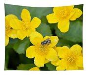 Marsh Marigold Tapestry