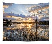 Marsh Sunrise Tapestry