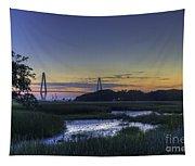Marsh To Bridge Tapestry