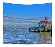 Marshes Lighthouse Tapestry