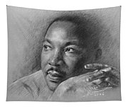 Martin Luther King Jr Tapestry