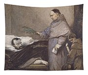 Martin Rithone Blessing The Body Of The Count Of Egmont Wc On Paper Tapestry