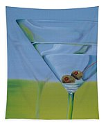 Martini Time Tapestry