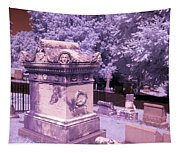 Mary And John Tyler Memorial Near Infrared Lavender And Pink Tapestry
