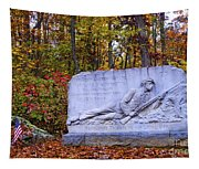 Maryland Monument At Gettysburg Tapestry