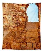 Masada Fortress Tapestry