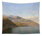 Massa And Bay Of Naples Tapestry