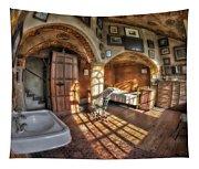 Master Bedroom At Fonthill Castle Tapestry
