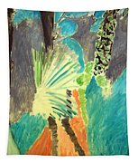 Matisse's Palm Leaf In Tangier Tapestry