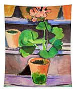 Matisse's Pot Of Geraniums Tapestry
