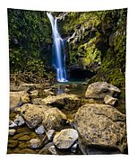 Maui Waterfall Tapestry