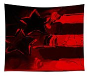 Max Americana In Red Tapestry