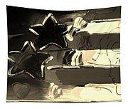 Max Americana In Sepia Tapestry