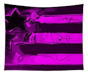 Max Stars And Stripes In Purple Tapestry