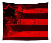 Max Stars And Stripes In Red Tapestry