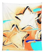 Max Two Stars In Inverted Colors Tapestry