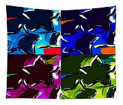 Max Two Stars In Pf Quad Colors Tapestry