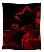 Max Two Stars In Red Tapestry