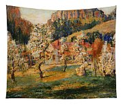May In The Mountains Tapestry