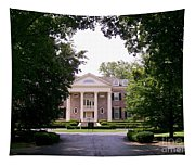Mccormick Mansion From The Drive Tapestry