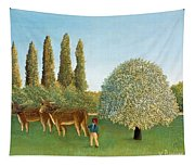 Meadowland. The Pasture  Tapestry