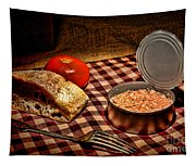 Meager Lunch Tapestry