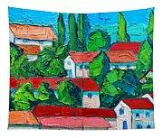 Mediterranean Roofs 3 4 Tapestry