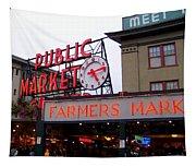 Meet Me In Seattle Tapestry