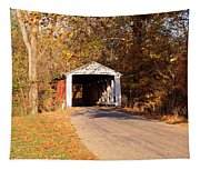 Melcher Covered Bridge Parke Co In Usa Tapestry