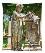 Memphis Elmwood Cemetery Monument - Cassie Hill Tapestry