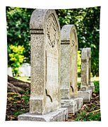 Memphis Elmwood Cemetery Monument - Four In A Row Tapestry