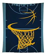 Memphis Grizzlies Court Tapestry