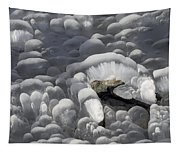 Mendenhall Lake Ice Abstract Tapestry