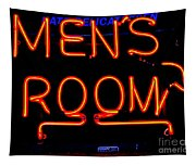 Men's Room Tapestry