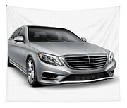 Mercedes-benz S550 4matic Luxury Car Tapestry