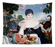 Merchants Wife At Tea Tapestry
