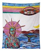 Yemoja Ufo  Tapestry