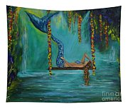 Mermaids Relaxing Morning Tapestry