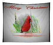 Merry Christmas Tapestry