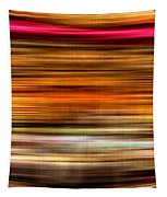 Merry Go Round Abstract Tapestry