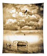 Message In A Bottle Tapestry
