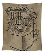 Metal Working Machine Patent Tapestry