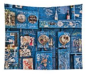 Meter Graffiti New Orleans Style Tapestry