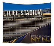 Metlife Stadium Super Bowl Xlviii Ny Nj Tapestry