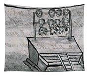Mexico - Skull Rack Tapestry